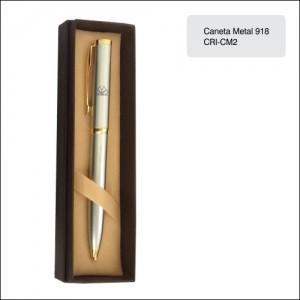 Clube Criciuma_Caneta metal 918 - CRI-CM2