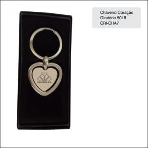 Clube Criciuma_Chaveiro coração 5018 - CRI-CHA7