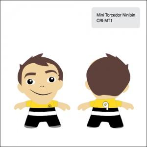 Clube Criciuma_Mini torcedor Ninibin - CRI-MT1