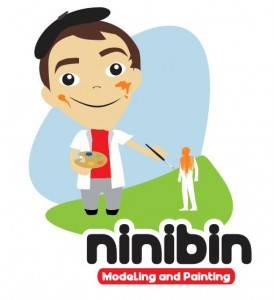 ninibin modeling and painting